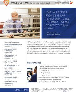 VALT Software for Law Enforcement