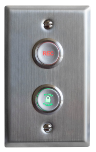VALT Privacy & Record Buttons